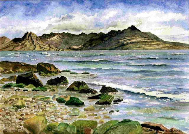 Cuillins, painted 2000