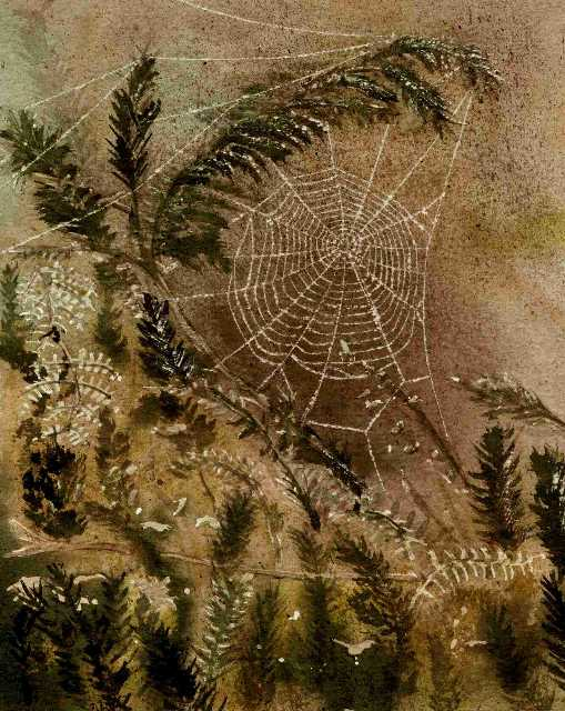 Spiders Web, painted circa 1997